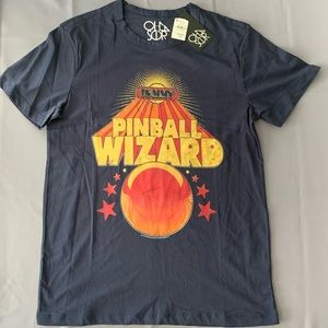 Tommy the pinball wizard t-shirt